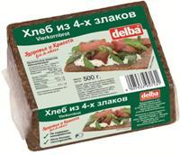 (Русский) Vierkornbrot (4 Grain Bread)