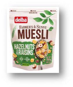 (Русский) Hazelnuts & Raisins Muesli