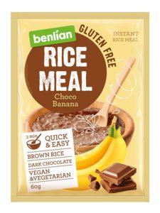 Рисовая каша быстрого приготовления с шоколадом и бананом